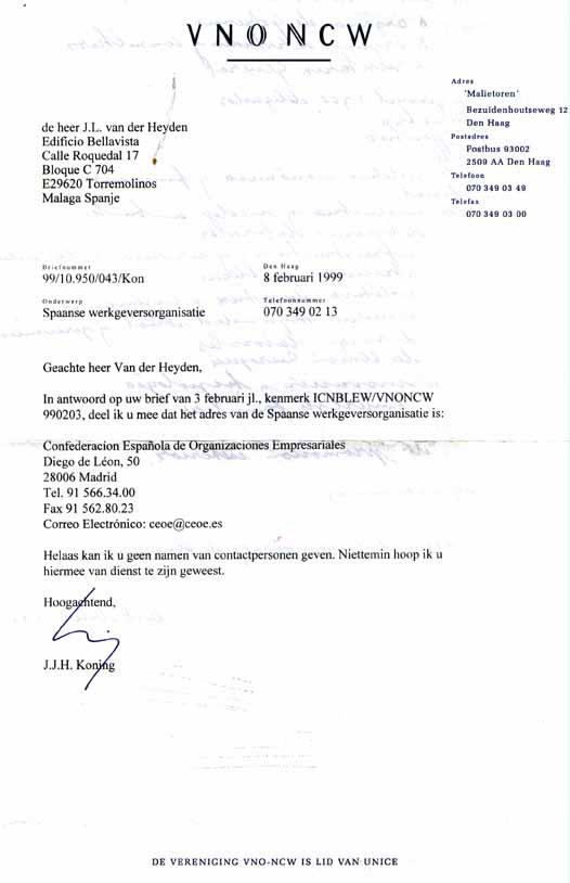 voorbeeldbrief afspraak maken 17 FEBRUARI 1999 MAF voorbeeldbrief afspraak maken