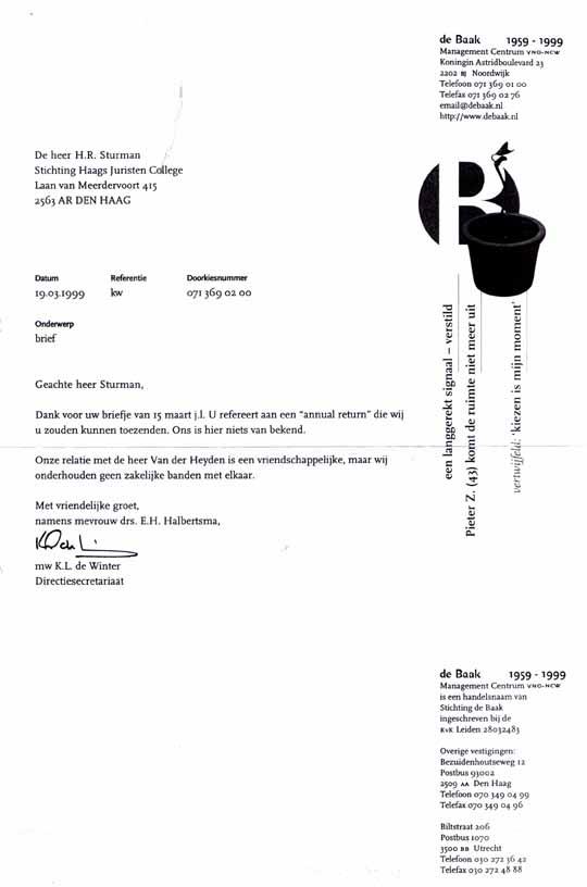 voorbeeldbrief verhuizing 27 APRIL 1999 DE KRACHT VAN HET GELOOF voorbeeldbrief verhuizing